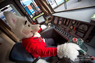 Bolt the Railway Dog by FurryCC