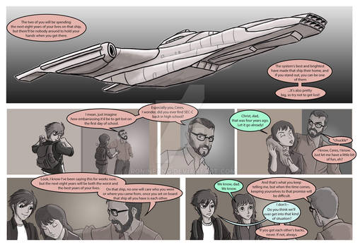 Last One's Comic Issue 1 Page-11-and-12 Small