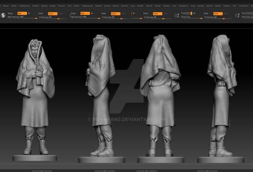 3d Sculpt Commission for 3d Print