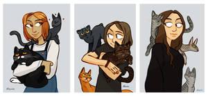Cats by NatashaFenik