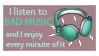 music stamp