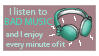 music stamp by KatIsConfused