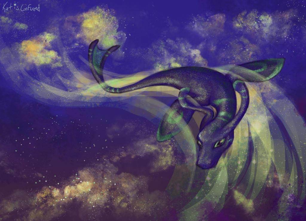 Spaceswim by KatIsConfused