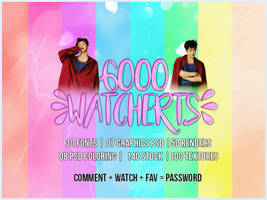 #MEGAPACK 6000 WATCHERS! [LINK WITHOUT PASSWORD] by BEAPANDA