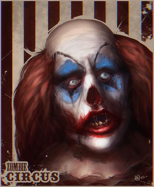 Zombie circus by saintbug