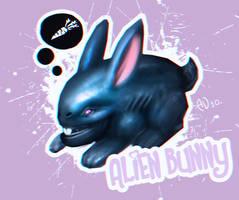 Alien bunny