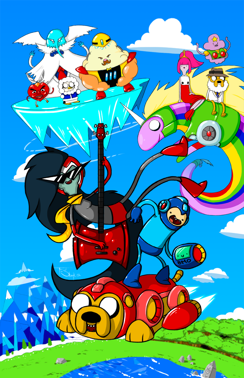 MEGAMAN TIME by FuShark
