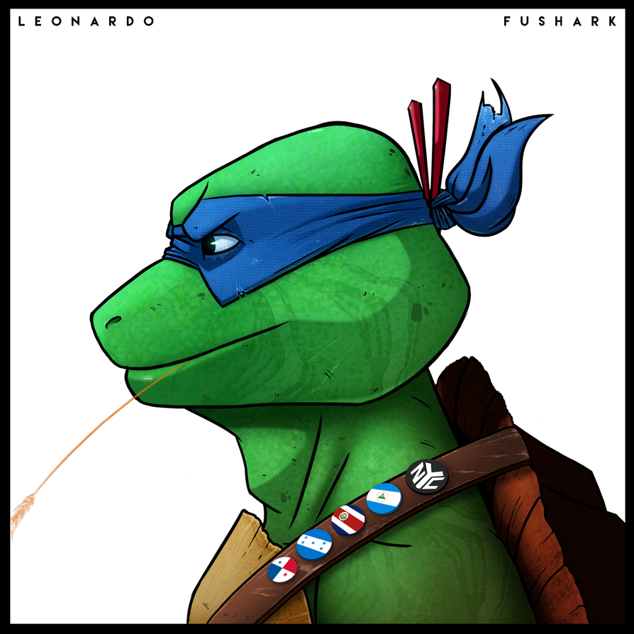 Leonardo - Mutant Days by FuShark