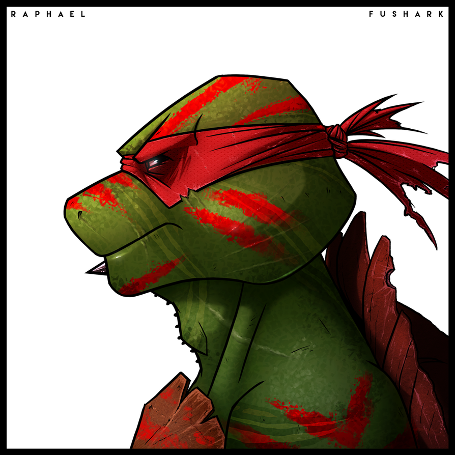 Raphael - Mutant Days by FuShark