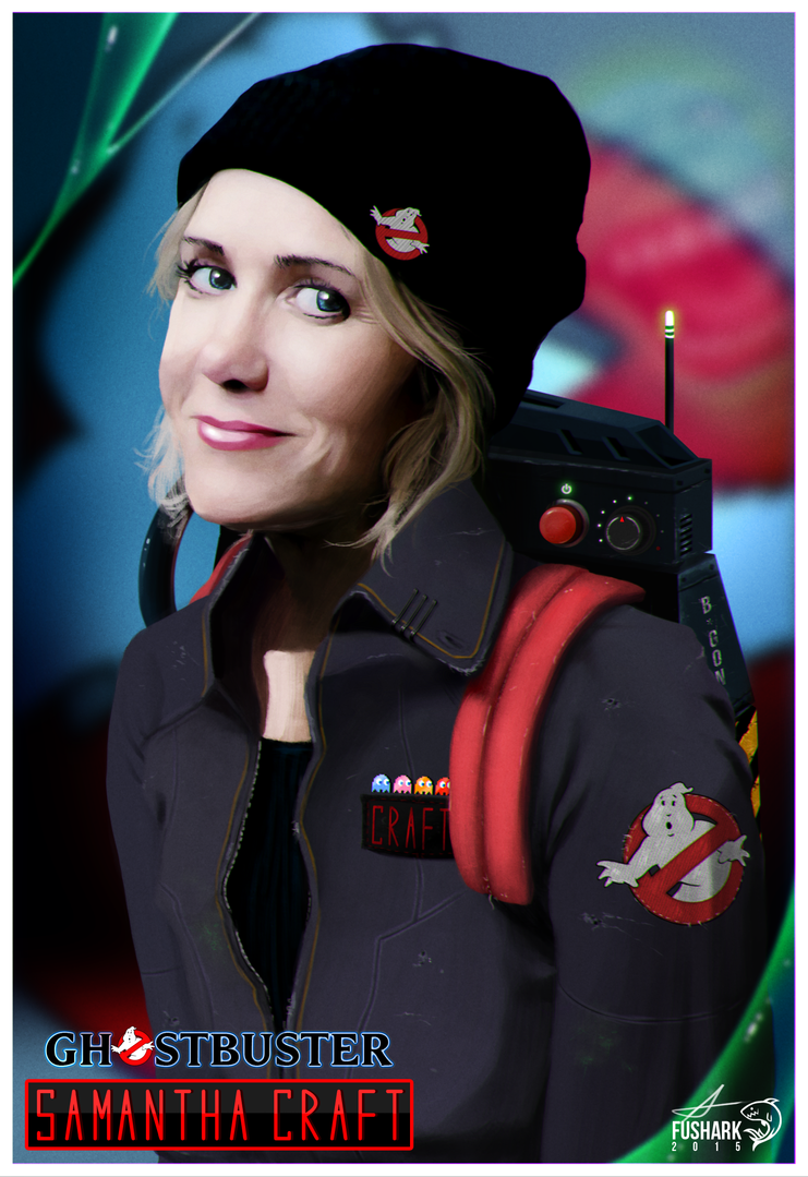 Ghostbusters - Samantha Craft by FuShark