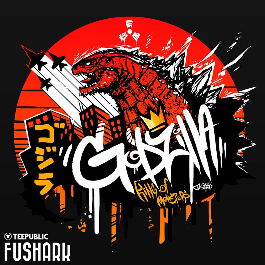 Godzilla - King of Monsters by FuShark