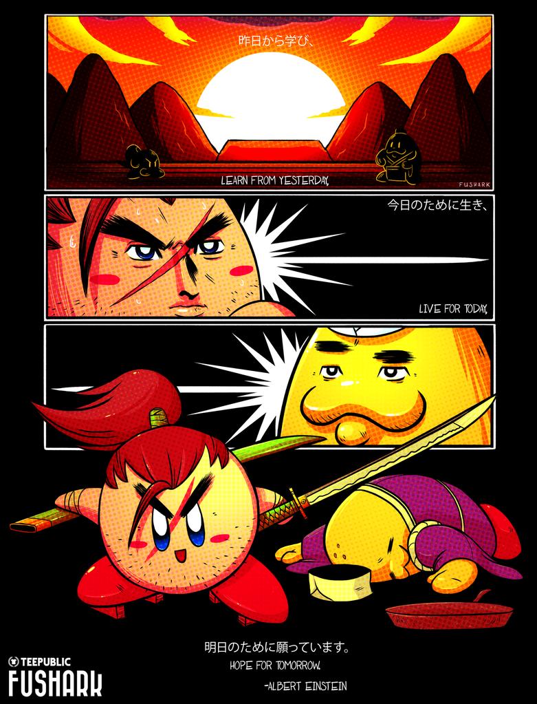 Samurai Kirby - Hope for Tomorrow by FuShark