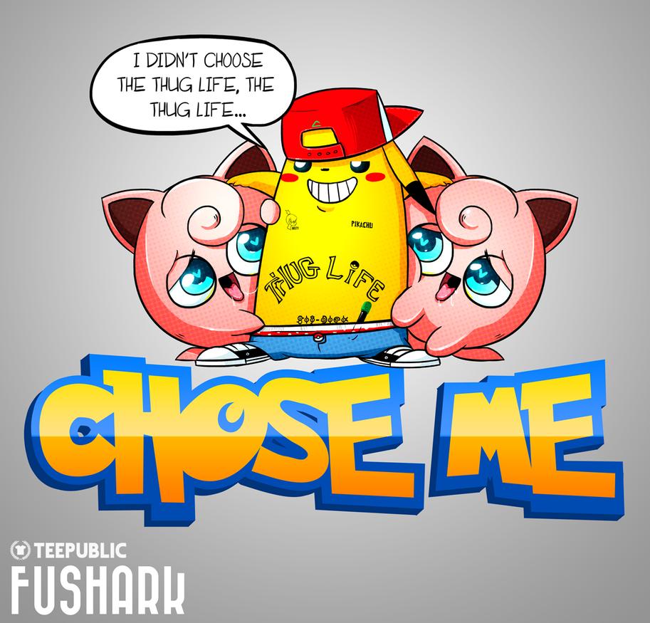 Poke'mon - Thug Life by FuShark