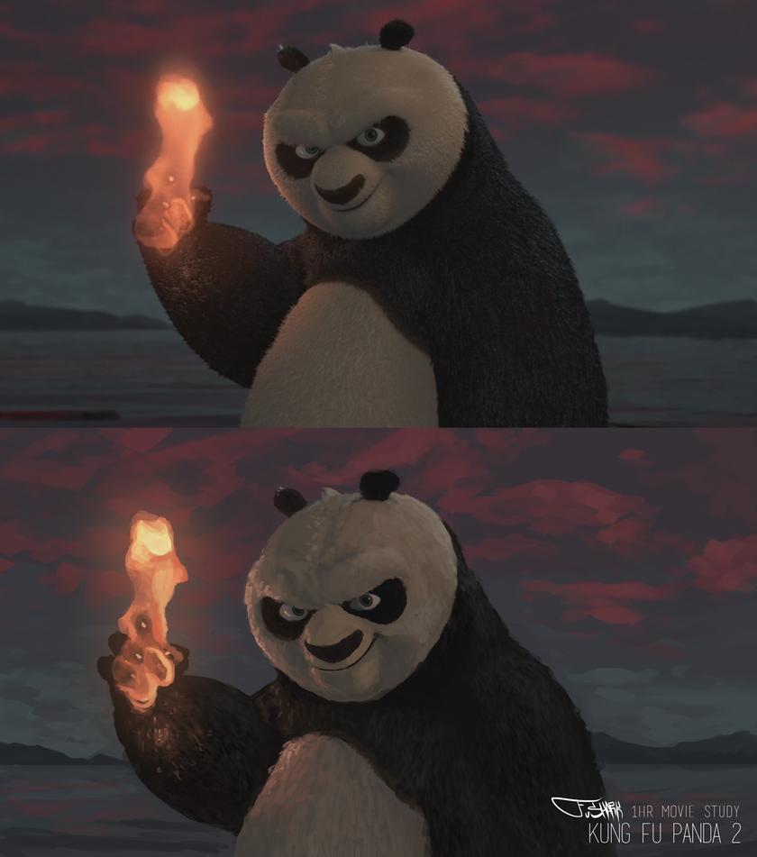 Kung Fu Panda - 1 Hour Study by FuShark