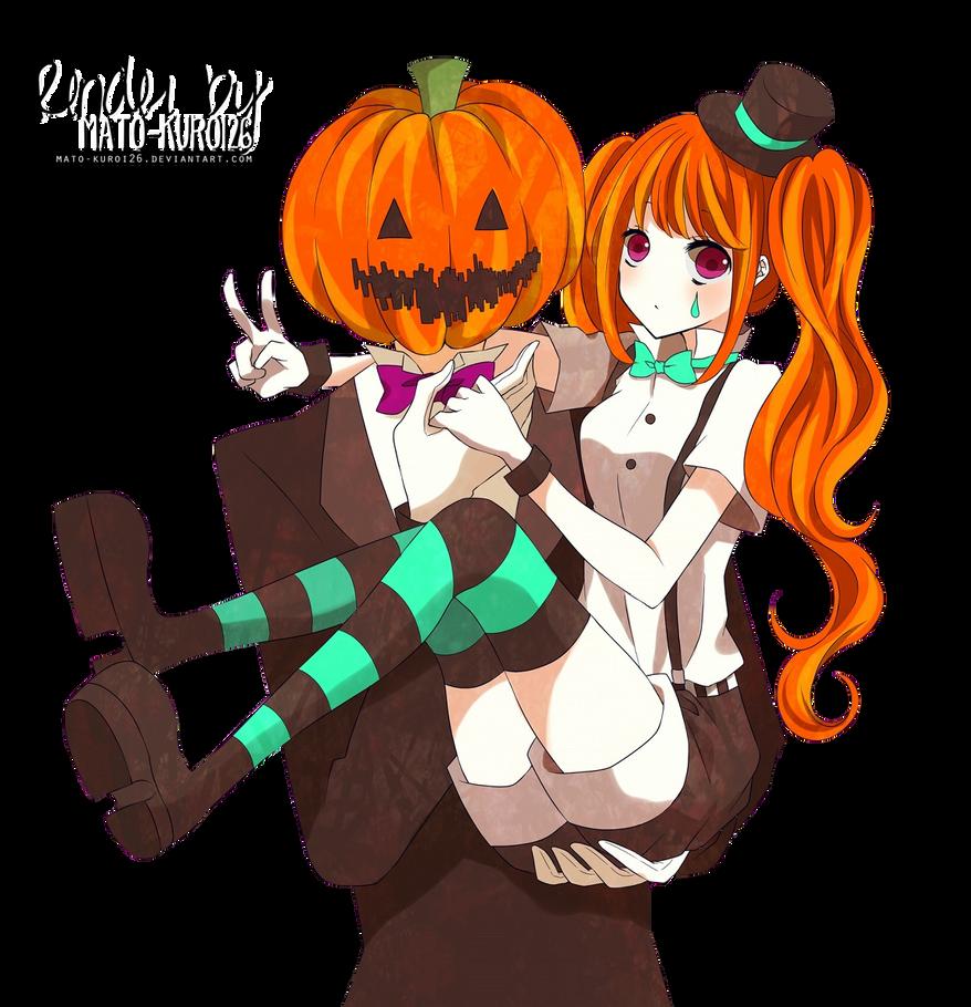 Renders Mangas Divers  Render_halloween_by_mato_kuroi26-d6rwsk4
