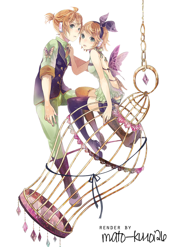 Renders Mangas Divers  Rin_and_len_render__by_mato_kuroi26-d6tww3l