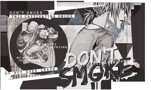 DON'T SMOKE by Mato-Kuroi26