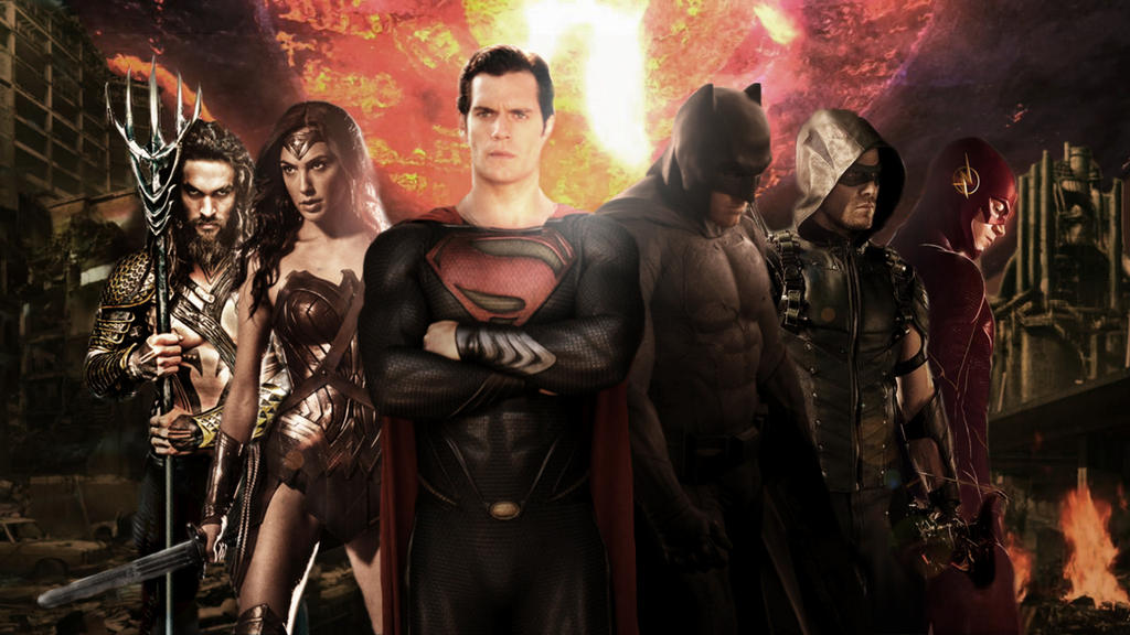 Group Of Dc Justice League Movie Wallpaper