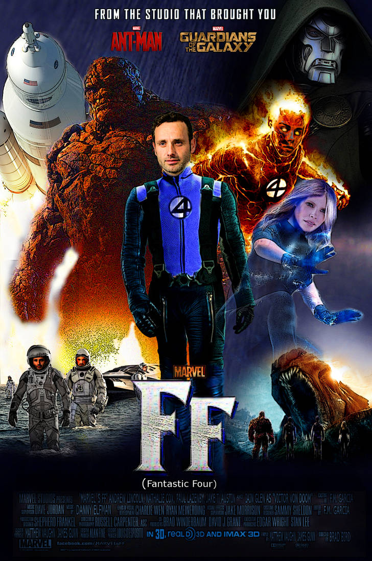 marvel ff fantastic four poster fanmade by