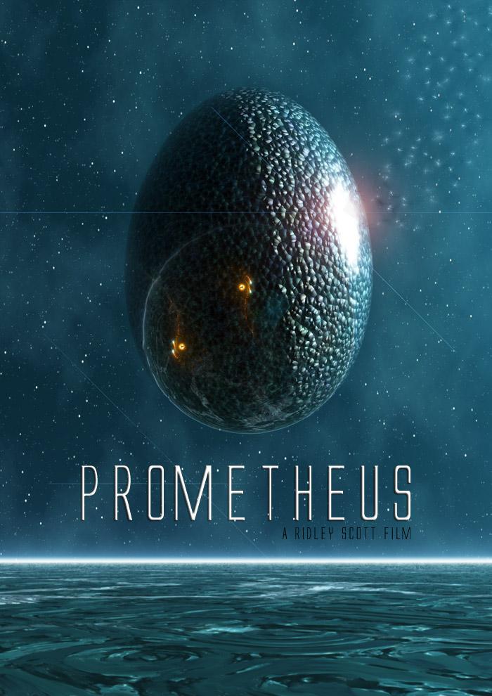 PROMETHEUS - Alien 5 - 2012 v3 by Santosky