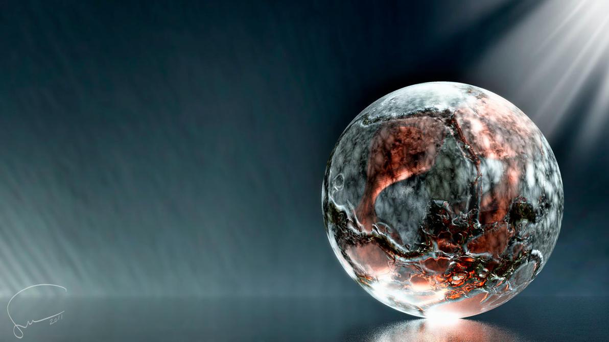 Digital Art Sphere2011 03 by Santosky