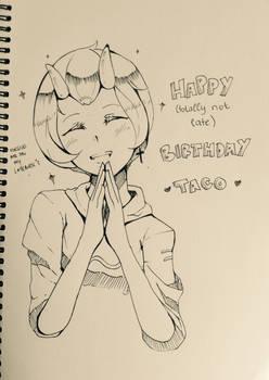 Happy Birthday Taco!!!