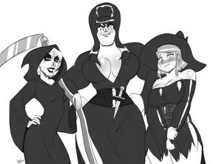 Sketch Commission: Ladies of the Night