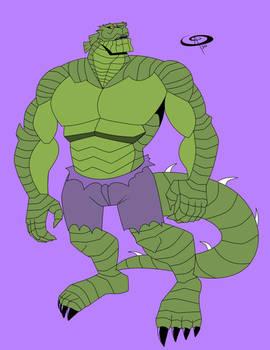 Patreon Request: Lizard-Hulk