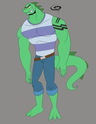 Patreon Request: Age-up Chameleon Jr.