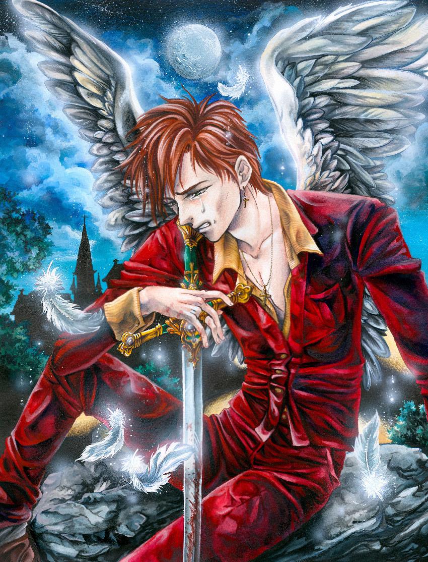 Angel in sin by Naschi
