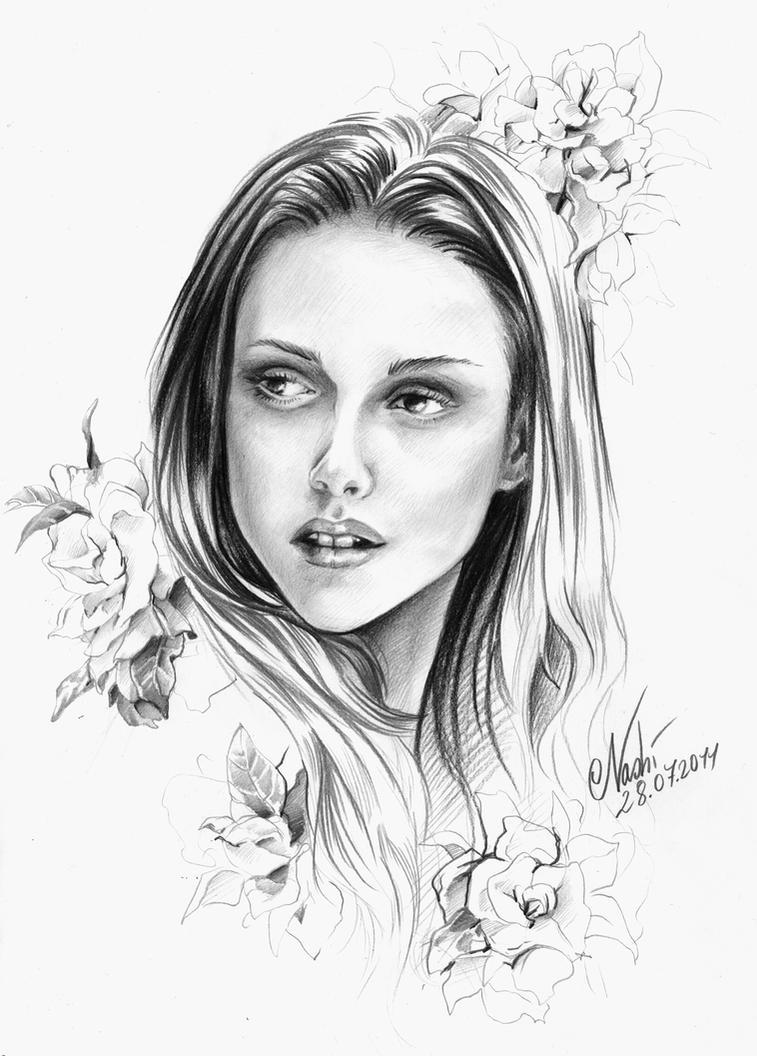 Isabella Swan Portrait by Naschi