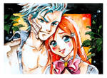 Inoue and Grimmjow by Naschi