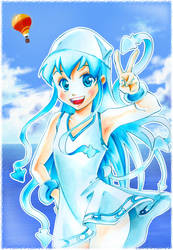 Ika Musume by Naschi