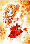 Nadja in autumn