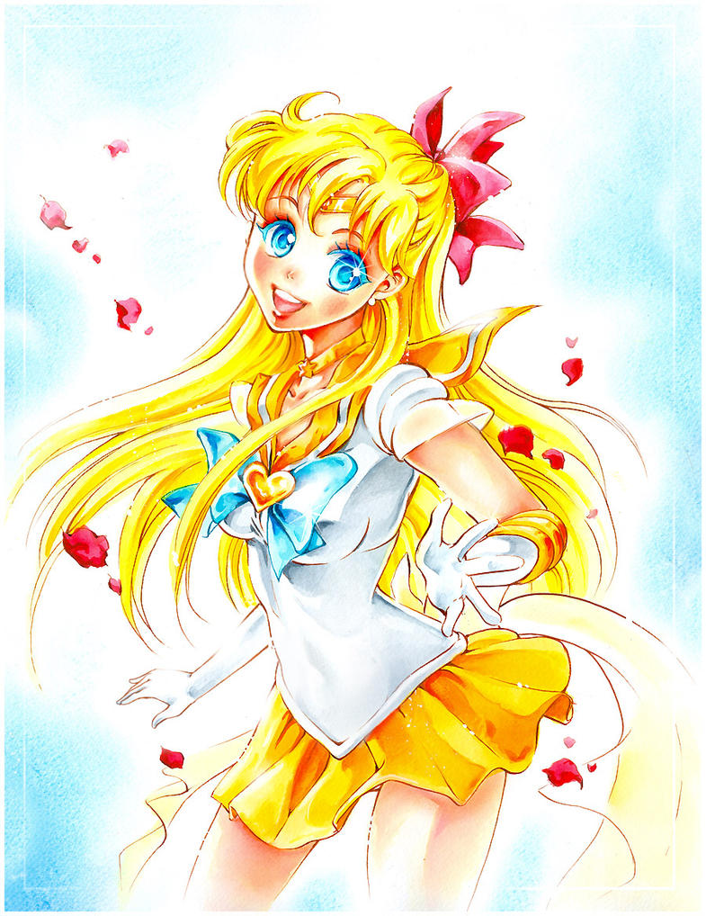 Sailor-venus by Naschi
