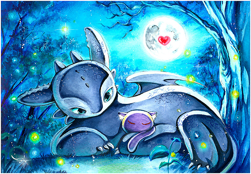 Together in the moonheart by Naschi