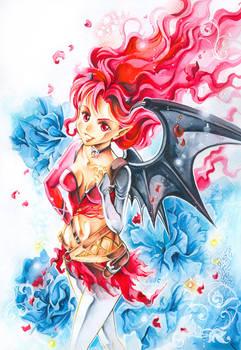 Commission: Kaorie daemon version