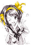 Suzumiya Haruhi no Yuuutsu: Haruhi