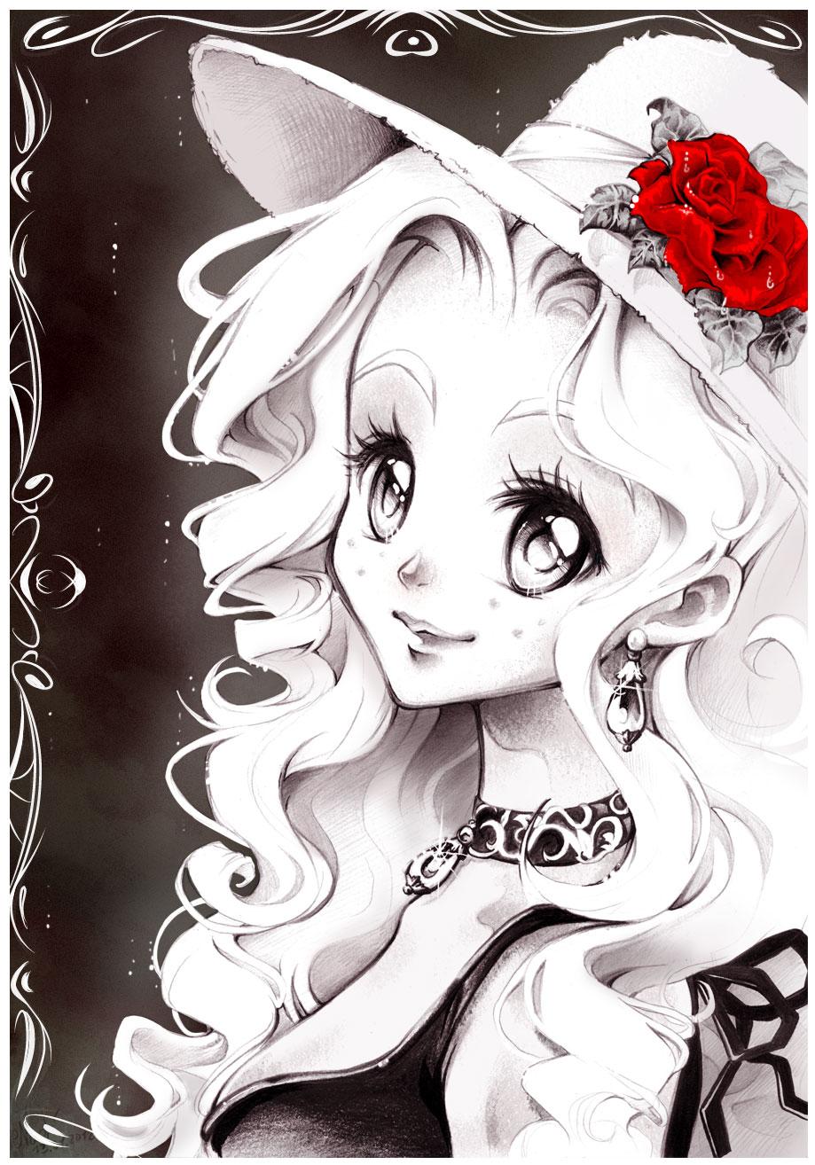 Nadja from my Manga by...