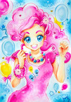 My little Pony: Pinkie Pie by Naschi