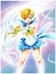 Sailor Moon: Sailor Uranus by Naschi