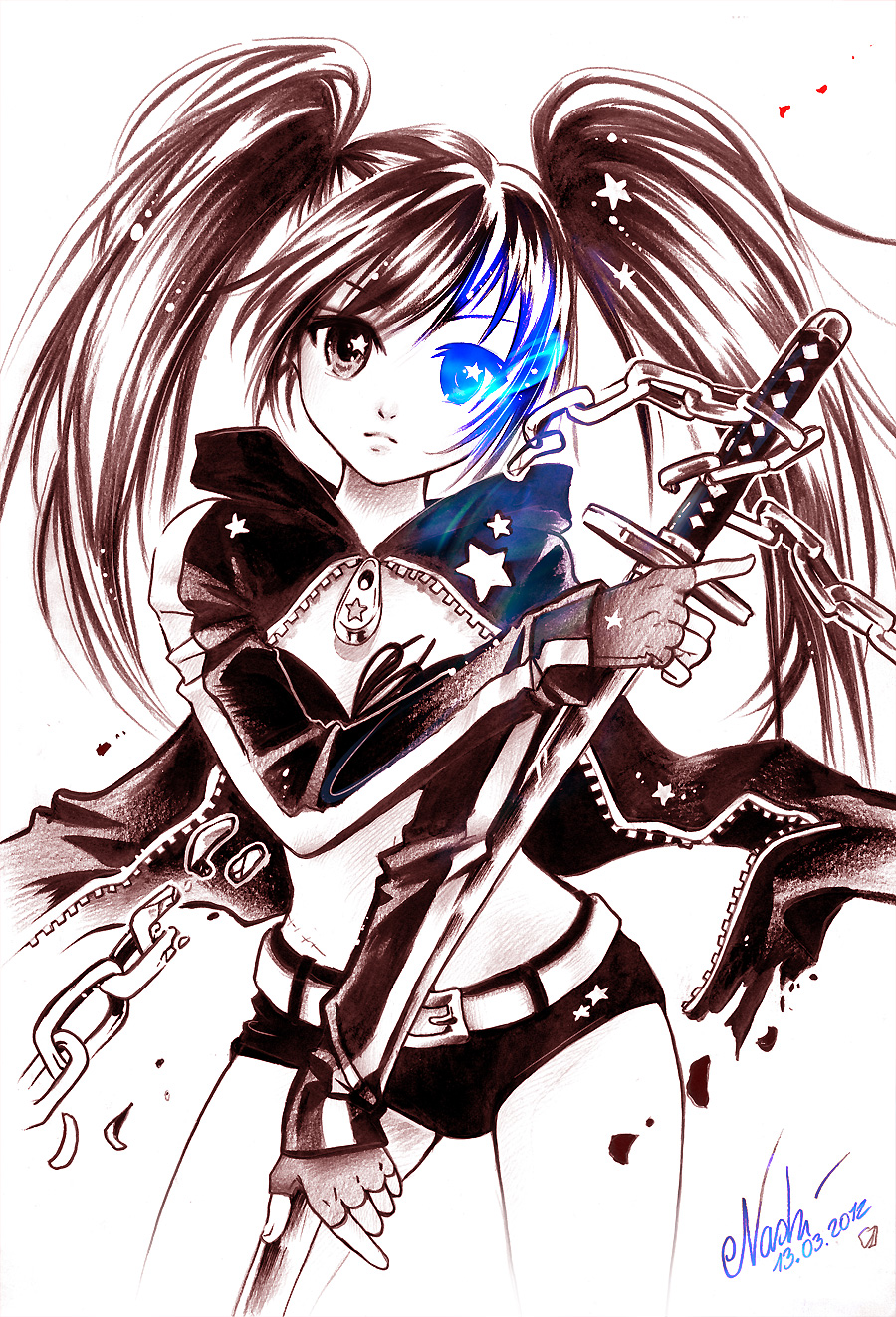 Black Rock Shooter by Naschi
