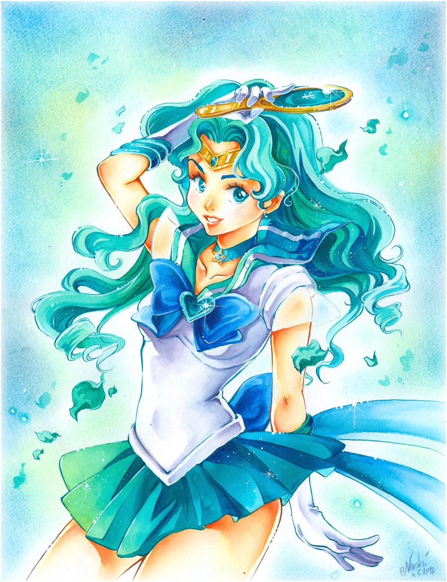Sailor Moon: Neptune by Naschi
