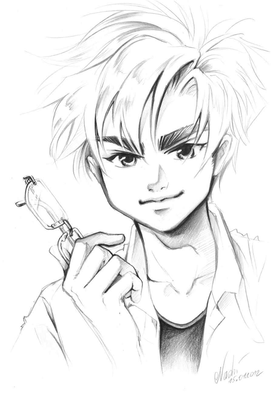 Erik from Sometimes she's the Light by Naschi