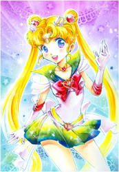 Super Sailor Moon by Naschi