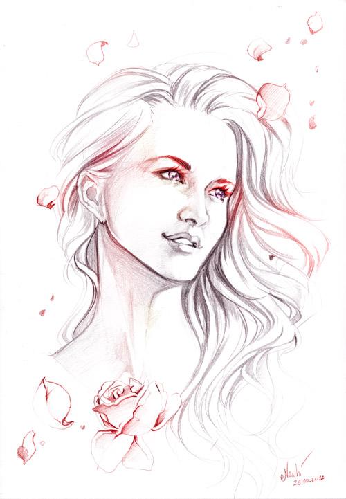 Inner Beauty Portrait By Naschi