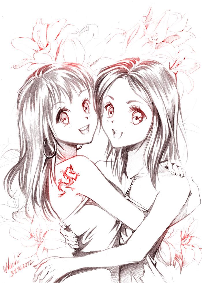 twins by Naschi