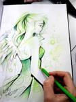 Absinthe Fairy by Naschi