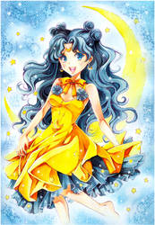 Sailor Moon: Luna by Naschi
