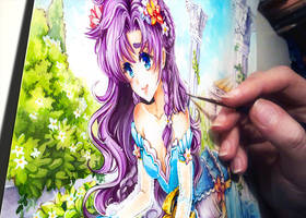 coloring violet by Naschi